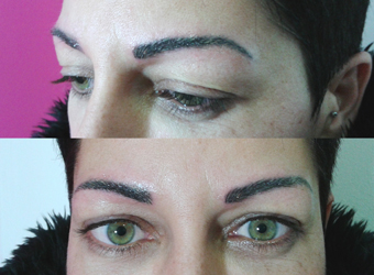 Micropigmentation projects and microblading