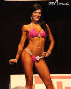 Vicky Guriterrez,2Th position bikini category